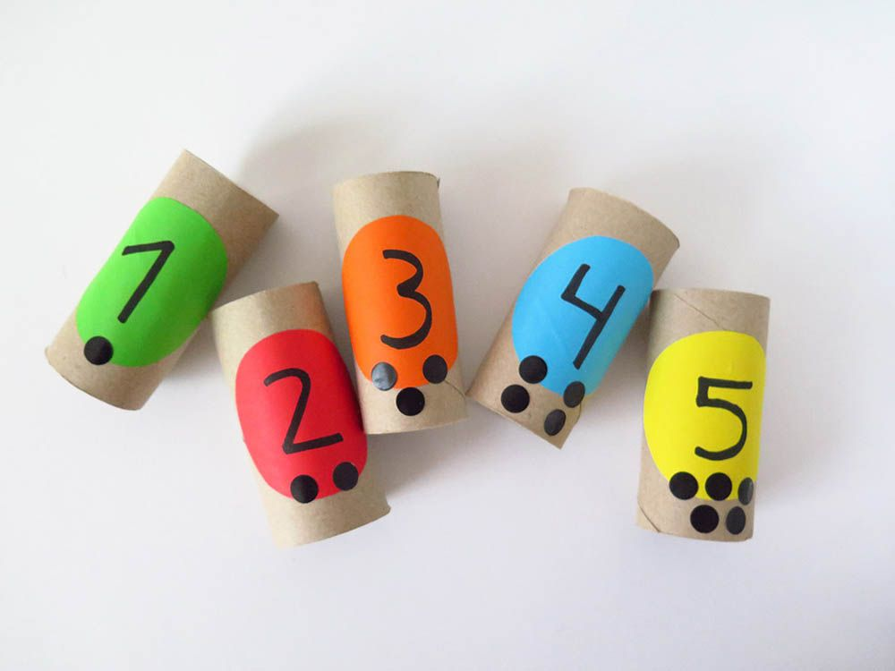 6 maneres de treballar els nombres amb materials de casa- Pares i Nens